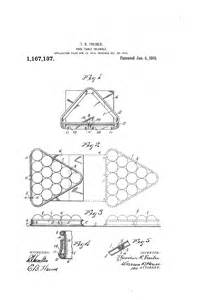 patent us1167137 pool table triangle google patents