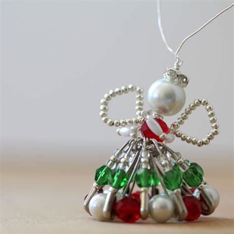 reader tutorial beaded christmas angel and sew we craft