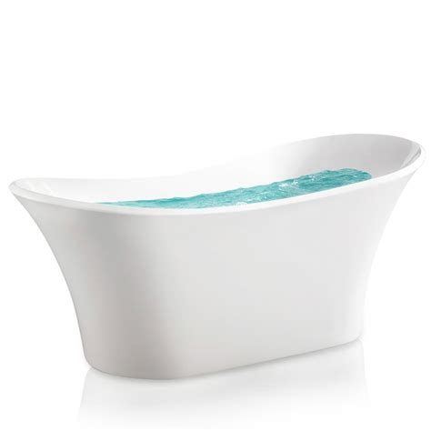 acrylic flat bottom tubs freestanding tubs bathtubs