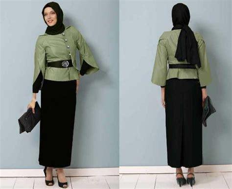 Setelan Baju Kerja 4 Tips Memilih Baju Kerja Wanita Muslim Sesuai Postur