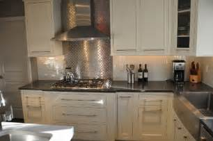 considering stainless steel backsplashes to have bold