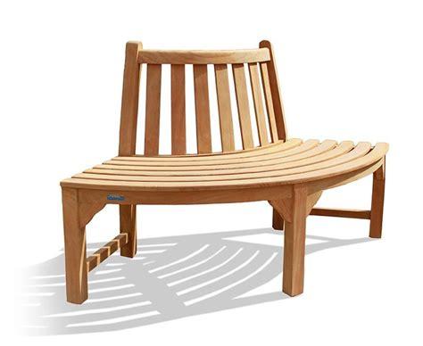 tree bench seat teak quarter 1 4 tree seat bench wooden tree seat