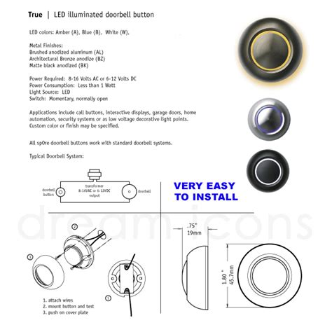illuminated doorbell wiring diagram k