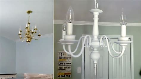 spray paint brass chandelier how to spray paint a brass chandelier 28 images