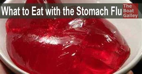 stomach virus what to eat with the stomach flu