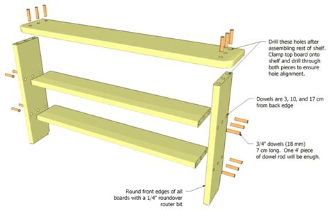 Woodworking Shelf Plans by Project Working Woodworking Plans In Sketchup