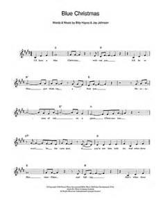 Blue christmas chords by elvis presley melody line lyrics amp chords