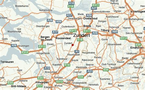 brabant netherlands map zundert location guide