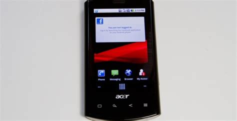 Rogers Cell Phone Lookup Rogers Wireless Acer Liquid E Review Slashgear