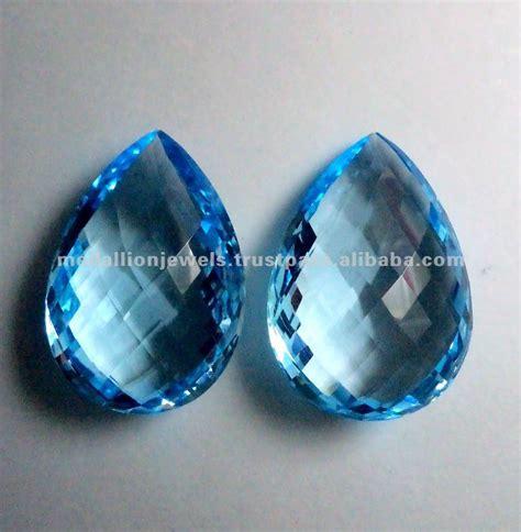 Sky Blue Topaz Sky Blue Topas sky blue topaz pear shape checkerboard facet cut