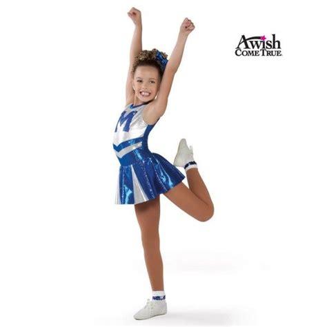 toddler dance cheer uniform cheerleader costumes for kids wish come true dance 2013