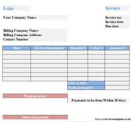 tax invoices templates tax invoice template free sle tax invoice template