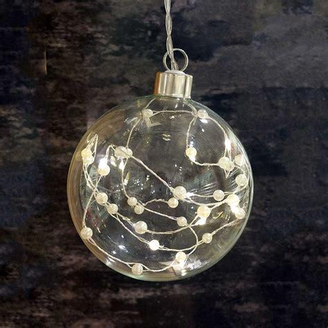 weihnachtskugeln mit licht weihnachtskugeln durchsichtig transparent bestellen