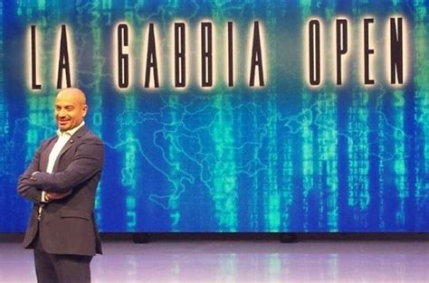 la gabbia programma tv la gabbia open su la7 anticipazioni e ospiti 1 febbraio