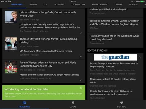 google news local section google news redesign extends to google news weather app