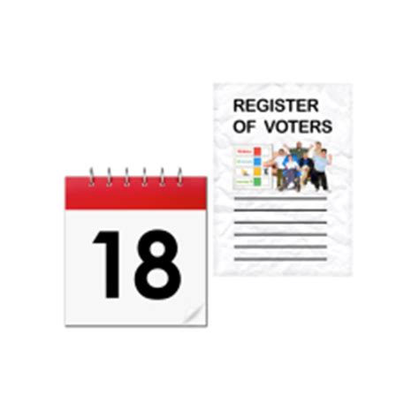 the way we all register to vote has changed rushden town voice registering to vote every vote counts
