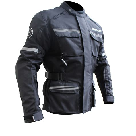 waterproof motorcycle jacket buffalo scope mens waterproof ce armoured 3 in 1