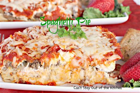 Spaghetti Pie Cottage Cheese by Spaghetti Pie With Cottage Cheese
