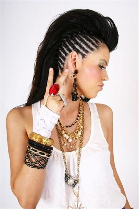 Mohawk Braid Hairstyle by 45 Fantastic Braided Mohawks To Turn Heads And Rock This