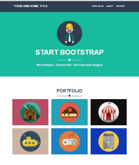 Bootstrap Themes For Jekyll | 15 awesome jekyll portfolio themes