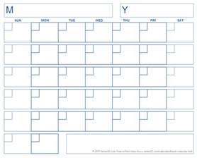 Blank Calendar Template Printable Free Blank Calendar Template Free Printable Blank Calendars