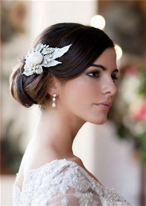 Wedding Hair Accessories Side Bun by Chignon De Cot 233 Mariage