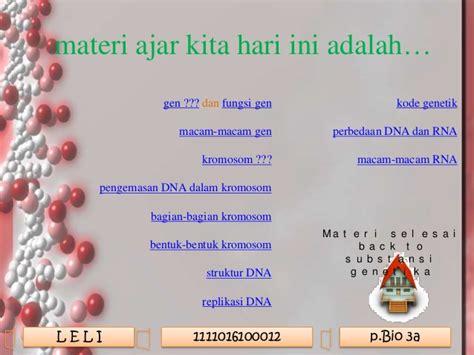 Bio Genetik Adalah | ppt medtek uas