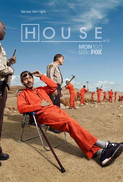 House Season 8 Hq Poster House M D Photo 25636870 Fanpop