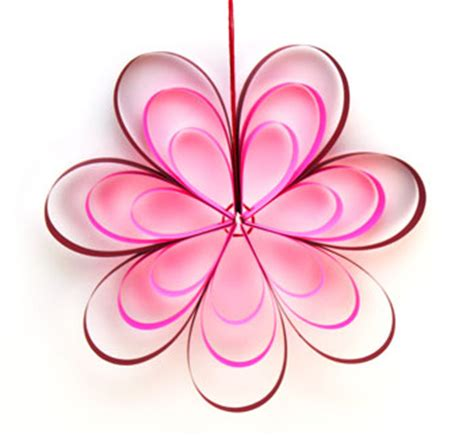 How To Make Flowers With Paper Strips - funezcrafts paper strips flower