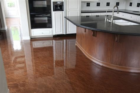 concrete kitchen flooring 5 reasons to choose concrete floors in your home