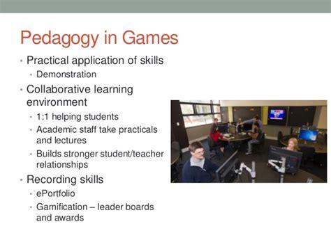 game design university australia using eportfolios to develop career objectives in games