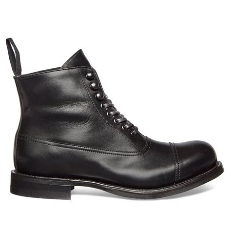 Boots R Style cheaney constance r black leather ankle boot made in