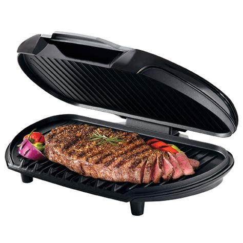 George Foreman Mp3 Ready Grill by George Foreman Gr144b Classic Plate Grill 144 Sq In For