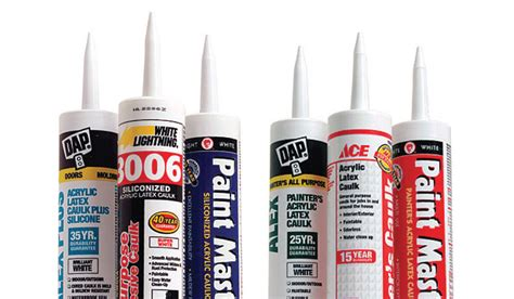 whats  difference paintable caulk fine homebuilding