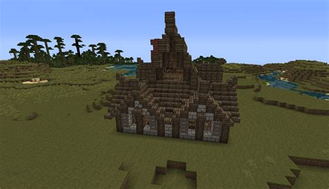 nordic house v2 minecraft project