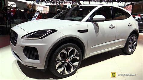 jaguar  pace exterior  interior walkaround  paris motor show youtube
