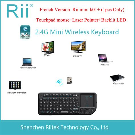 rf wireless mini keyboard with touchpad autos post