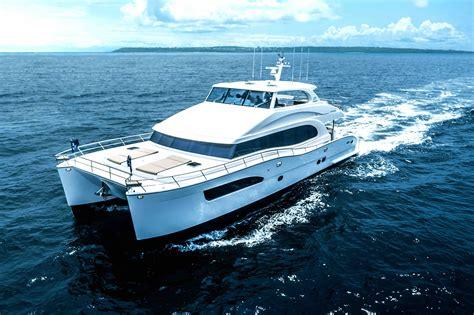 catamaran luxury yacht new pc74 power catamaran mega yacht brings performance