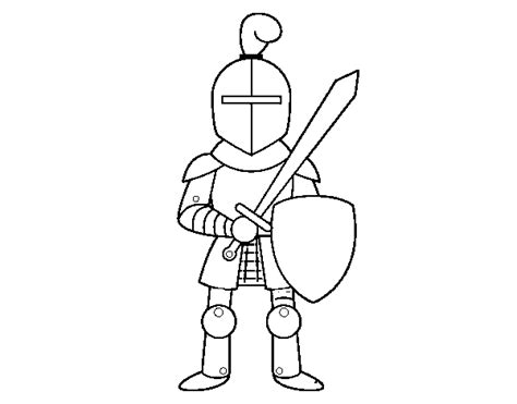 knight sword coloring page knight with sword and shield coloring page coloringcrew com