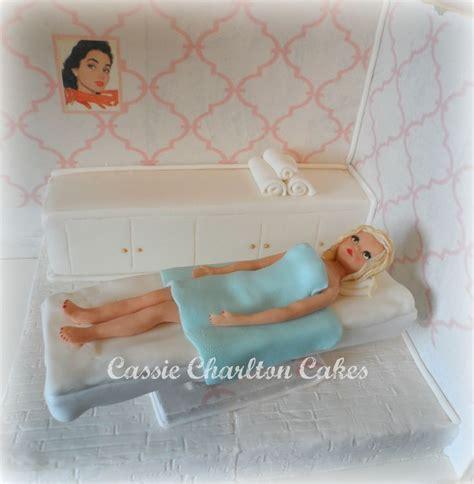 beauty therapy couch beauty therapy couch cake cassie charlton cakes pinterest