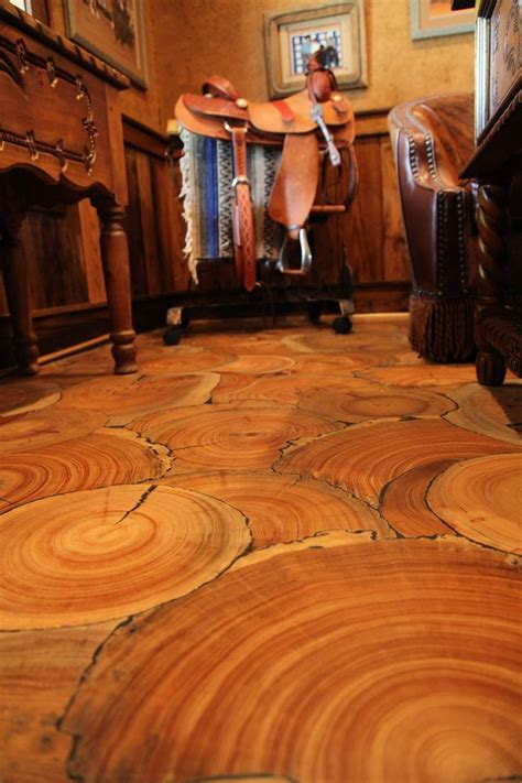 100 floors stage 54 wood floor of the year 2014 no planks tree slices