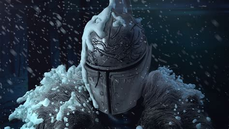 dark souls fan art on snow by deivuu on deviantart