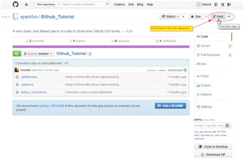 spark tutorial github using github to share with sparkfun learn sparkfun com