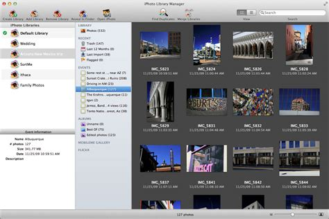 libreria iphoto iphoto library manager e guida all uso