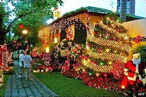 how do brazilians decorate for christmas news in depth photo gallery the day in pictures