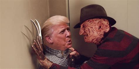 donald trump film donald trump in iconic horror movies