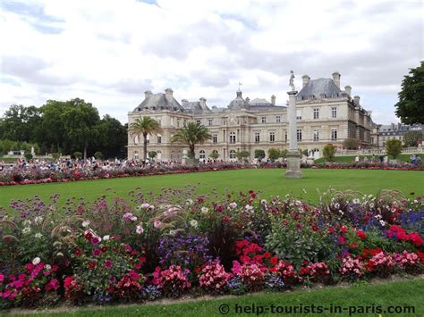 jardin luxembourg der jardin du luxembourg in paris touristen in paris