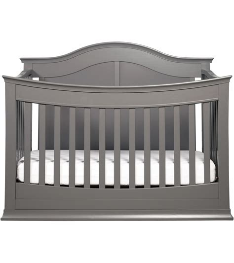 Davinci 4 In 1 Convertible Crib Davinci Meadow 4 In 1 Convertible Crib With Toddler Bed Conversion Kit In Slate Finish