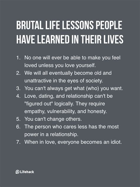 Striking Imbalance Of Rights Lessons Learnt From Us And | 7 brutal life lessons people learned in their lives