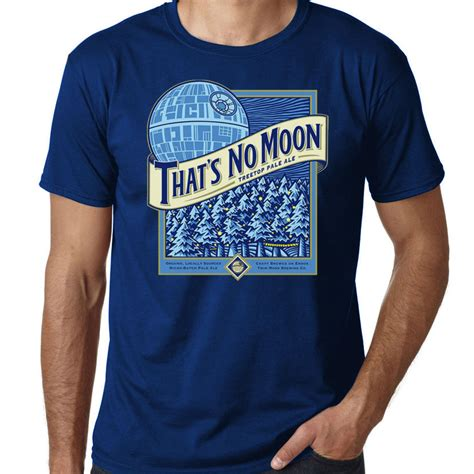 APPAREL :: That's No Moon Death Star Beer Tee   Shut Up